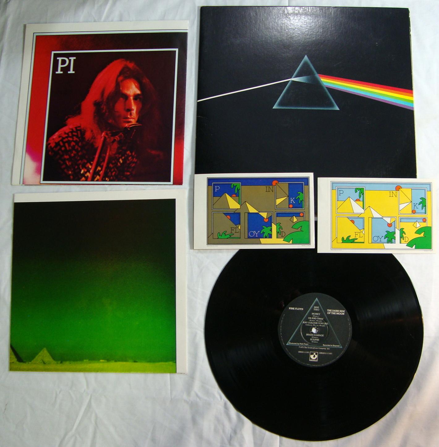 Pink Floyd Dark Side Of The Moon Original Uk Vinyl