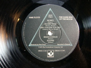 Pink Floyd - Dark Side of the Moon - Original UK Vinyl Pressing 1973 with Posters & Stickers 9