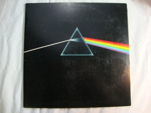 Pink Floyd - Dark Side of the Moon - Original UK Vinyl Pressing 1973 with Posters & Stickers