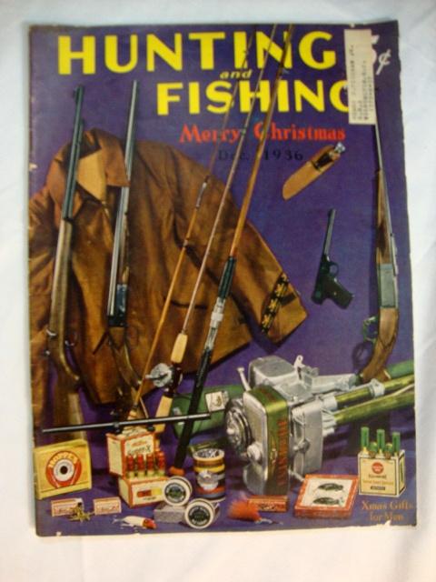 Hunting and fishing magazine december 1936 azio media for Hunting and fishing magazine