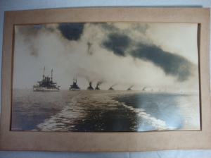 Original D.W. Waterman 1909  Naval Flotilla Photograph 2