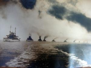 Original D.W. Waterman 1909  Naval Flotilla Photograph 3