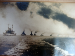 Original D.W. Waterman 1909  Naval Flotilla Photograph 4