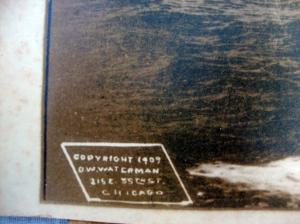 Original D.W. Waterman 1909  Naval Flotilla Photograph 6