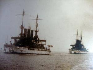 Original D.W. Waterman 1909  Naval Flotilla Photograph 7