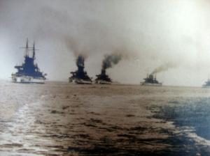 Original D.W. Waterman 1909  Naval Flotilla Photograph 8