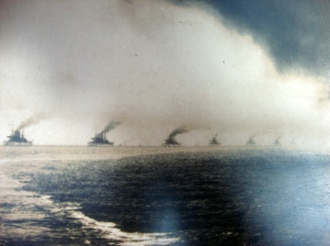 Original D.W. Waterman 1909  Naval Flotilla Photograph 9