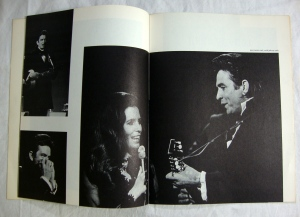 Autographs Johnny Cash, Statler Bros. & Bob Wootton 1972 Tour Program w Stubs 12