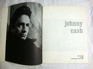 Autographs Johnny Cash, Statler Bros. & Bob Wootton 1972 Tour Program w Stubs 5