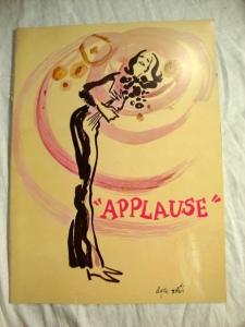 APPLAUSE A New Musical Starring Lauren Bacall
