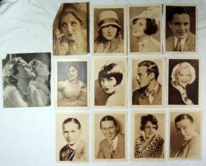 47 Original Vintage 1920's & 1930's HOLLYWOOD MOVIE STARS Photos