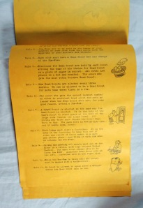 Secret Rules Lone Ranger Safety Scout Club Historic 1935 Silvercup Manual 7