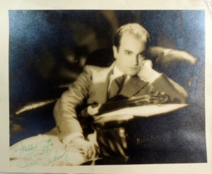 Signed Autographed Portrait Photograph of Violinist David Rubinoff 6