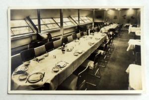 RARE NAZI AIRMAIL STAMP w SWASTIKA HINDENBURG STAMP & HINDENBURG POSTCARD 1936 2