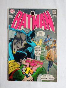 Batman Comic Book 222 Neal Adams Cover of The Beatles 1970 Key Issue 3