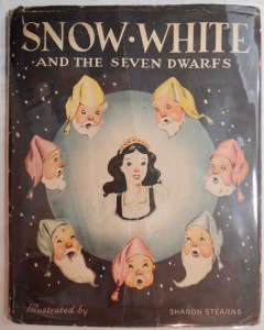 "Pre-Walt Disney"" Snow - White and the Seven Dwarfs"" book - Wilcox & Follett 1946 Sharon Stearns (illustrator)"