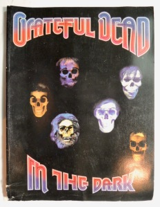 Grateful Dead In The Dark Sheet Music Book 1988 Ice Nine Publishing