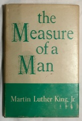 The Measure of a Man King, Martin Luther cover